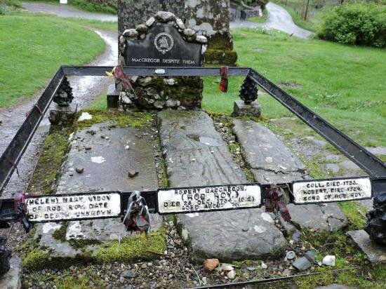 Rob Roy's Grave: Tumba de Rob Roy
