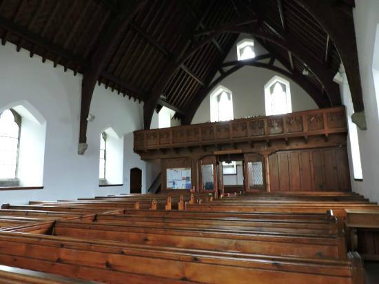 Rob Roy's Grave: Interior de la iglesia