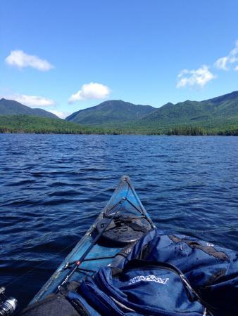 Elk Lake Lodge: Kayaking and fishing on Elk Lake