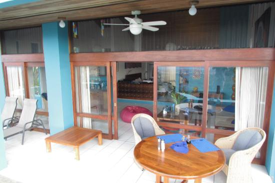 Alajuela, كوستاريكا: Patio of 1st room stayed in