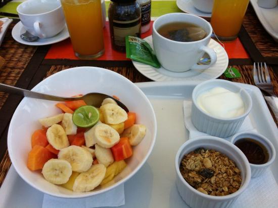 Front Loop Cabarete: Tuti fruti au petit dejeuner