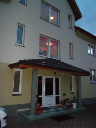 Villa Zdroj: Eingangsbereich