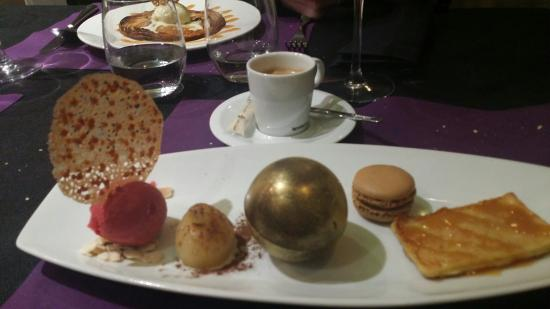 Le Lodge : Café gourmand