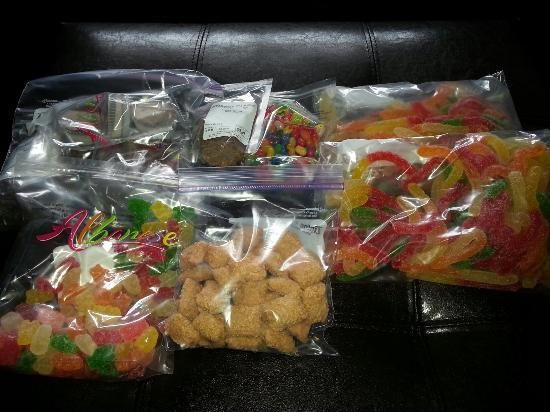 Albanese Candy Factory: Just a few things I purchased thus week!