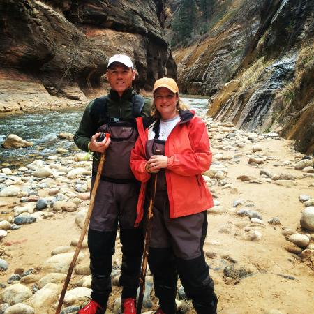 Zion Outfitter: Me and the Wife