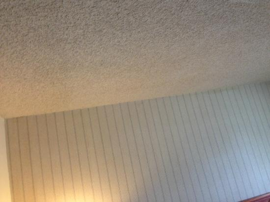 ‪‪Harbor View Inn‬: Cottage cheese ceiling, possibly asbestos???‬