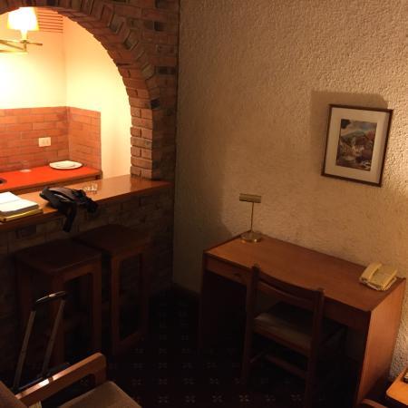 El Doral Apart Hotel: Salottino all'ingresso