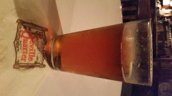 Seville Quarter: The beer I had