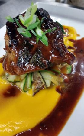 Flying Rhino Cafe: Sticky Pork ☆2015 Worcester's Best Chef 1st Place People's Choice Award