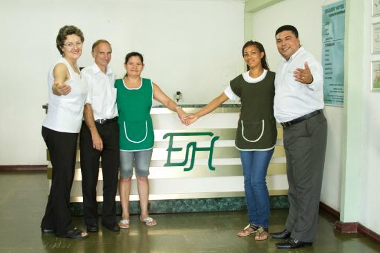 Eduardo Hotel: Nossa família pronta para receber a sua