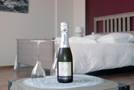 Chambres d 39 hotes les cepages france le mesnil sur oger for Chambre agriculture champagne ardenne