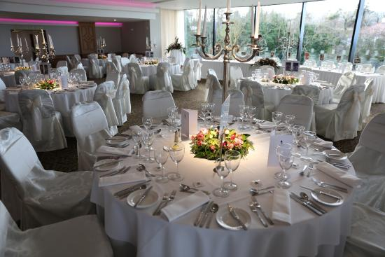 Ballroom Set For Our Wedding Picture Of Ballygally Castle