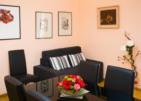 BB Eternal Rome Inn: salotto