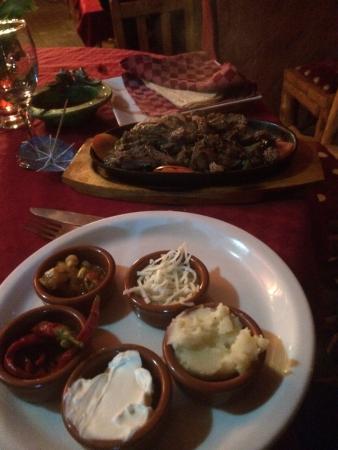 Salsa Posada : Fajitas