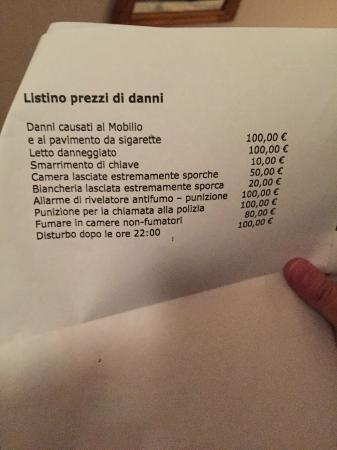 "Appart Hotel Tassilo: ""Tariffe"""