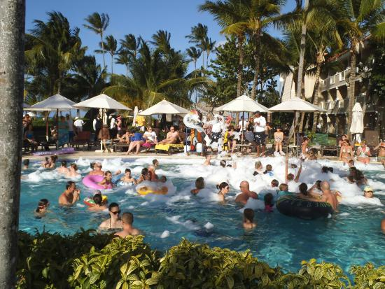 Dreams Palm Beach Punta Cana Foam Party In The Pool