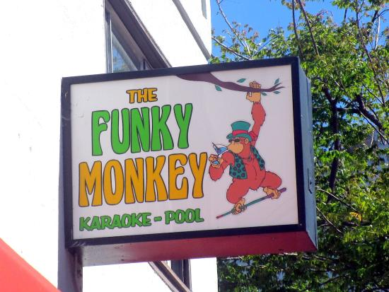 The Funky Monkey, Main Street, Hayward, Ca