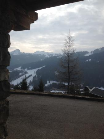 Chalet l'Envala: View from hotel
