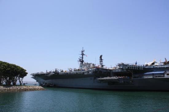 Musée de l'USS Midway : San Diego Port
