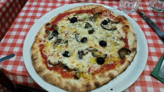 Hervorragend pizza sans fromage - Photo de L'Italia, Bordeaux - TripAdvisor MK88