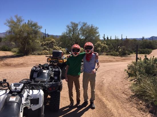 Stellar Adventures : Brothers bonding on ATV tour