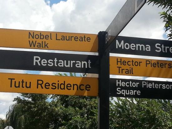 South Western Townships: Desmond Tutu street, Soweto