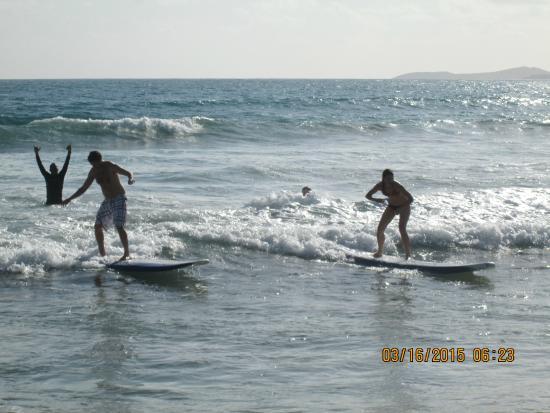 Luquillo Beach Boys Surfschool: We're Doin' it!