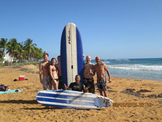 Luquillo Beach Boys Surfschool: Beach Boys Surf School Graduates
