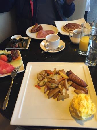breakfast picture of trump soho new york new york city