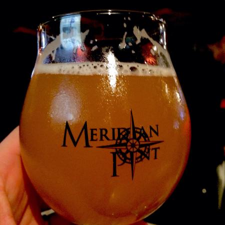Meridian Pint: A drink in the signature glass