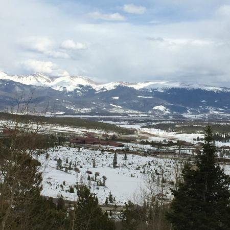 Snow Mountain Ranch: Our view from Magnolia Cabin