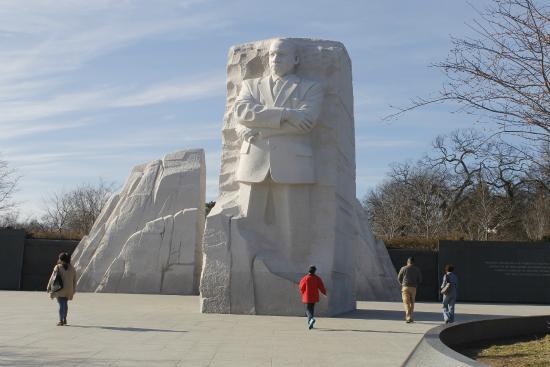 Martin Luther King, Jr. Memorial: Totalidad de bloques del memorial