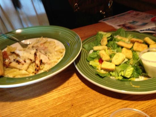 Applebee's: 2 for $20 3 cheese chicken penne with caesar salad