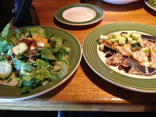Applebee's: 2 for $20 cedar grilled lemon chicken with house salad