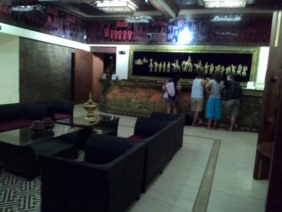 Bawga Theiddhi Hotel : lobby wifi แรง