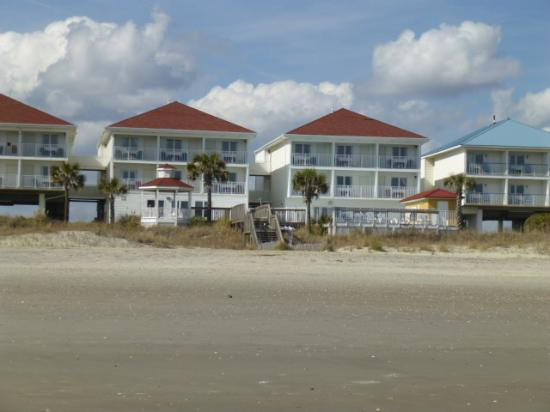Islander Inn Red Roofs And Beach Access As Seen From The