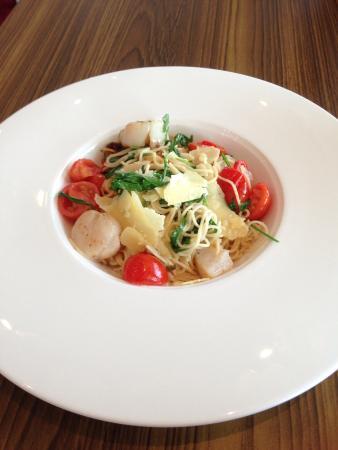 Cienna Restaurant: Scallop pasta