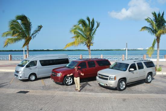 At Your Service Cancun - Day Tours : Our Flee !!