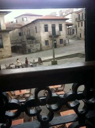 restaurante ruas: Vista a la plaza de la leña