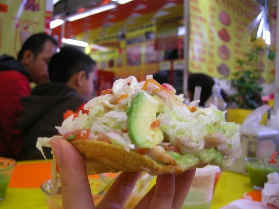Tostadas de Coyoacan : Ceviche Tostadas (*****)