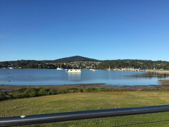 Tidal Waters Resort: Beautiful view from the restaurant deck