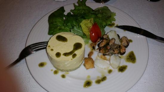 Auberge Cigaloise : Le repas du soir et la chambre