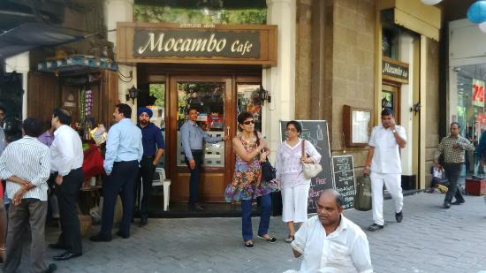 Mocambo Cafe: The entrance off Sir P M Road