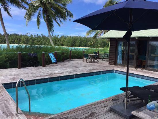 Sokala Villas: Beach front villa with pool