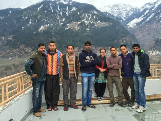 Karma Cottage: With the homely Team