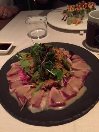 Basara Milano - Sushi Pasticceria: tonno con lardo di colonnata