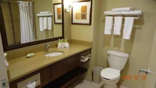 Holiday Inn Express Kelowna: バスルーム