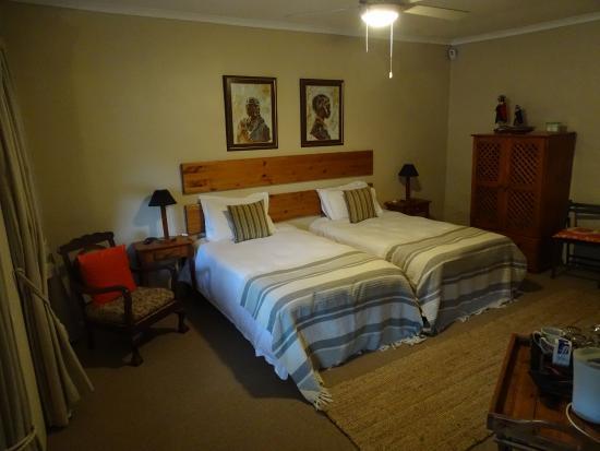 Aanhuizen Guest House: Sfeervolle hotelkamer.