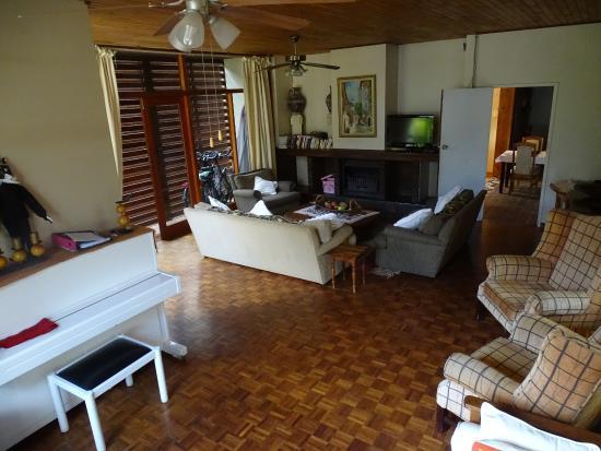 Aanhuizen Guest House: Een knusse huiskamersfeer.