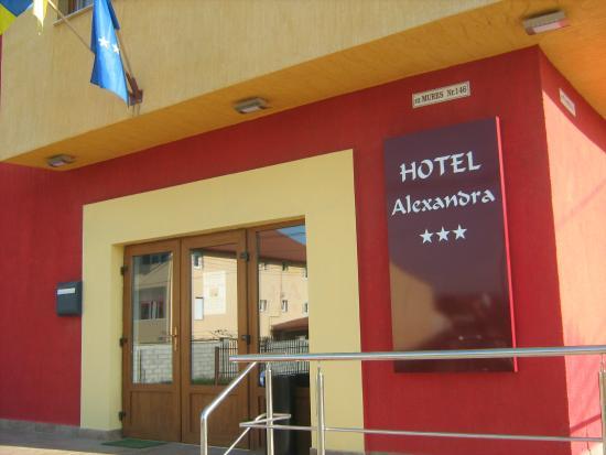Hotel Alexandra: entrance